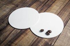 Caboteurs et grains de café Images libres de droits