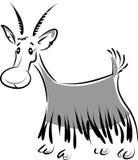 Cabra Ilustração Royalty Free