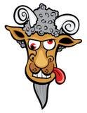 Cabra louca Fotografia de Stock