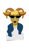 Cabra luxuosa - cordeiro do estilo Foto de Stock Royalty Free