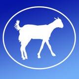 Cabra nacional Logo Background Banner del ganado libre illustration
