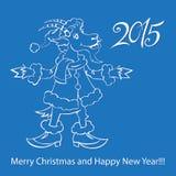 Cabra - símbolo 2015 - ejemplo Fotos de archivo libres de regalías