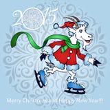 Cabra - símbolo 2015 - ejemplo Fotografía de archivo libre de regalías