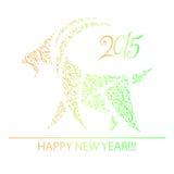 Cabra - símbolo 2015 - ejemplo Imagen de archivo