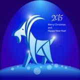 Cabra - símbolo 2015 - ejemplo Imagen de archivo libre de regalías
