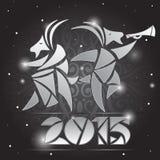 Cabra - símbolo 2015 - ejemplo Foto de archivo libre de regalías