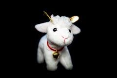 Cabra u ovejas el símbolo 2015 años Foto de archivo libre de regalías