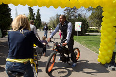 Cabral на дне Bike I'Velo Стоковое Изображение