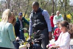 Cabral at I'Velo Bike Day Stock Image