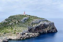 Cabrera-Inselleuchtturm lizenzfreies stockbild