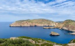 Cabrera island bay Royalty Free Stock Photo