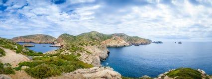 Cabrera island panorama Royalty Free Stock Images