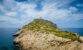Cabrera lighthouse Royalty Free Stock Photos