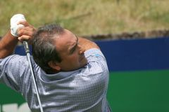 Cabrera, Open de France 2006, golf National Stock Image