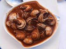 cabrillas z pomidorem, kuchnia, gastronomy, Hiszpański jedzenie zdrowy, wyśmienicie, smakowity, Zdjęcie Stock