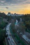 Cabrillo huvudväg Arkivfoto