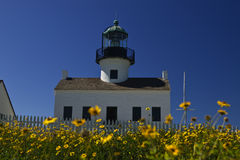 Cabrillo Light House stock image