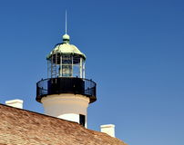 Cabrillo Lighthouse. Against a clear blue sky stock image