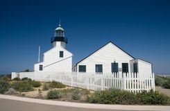 Cabrillo Lighthouse Royalty Free Stock Image