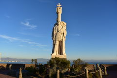 Cabrillo Statue at Cabrillo National Monument Royalty Free Stock Image