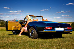 Cabrio Στοκ φωτογραφία με δικαίωμα ελεύθερης χρήσης