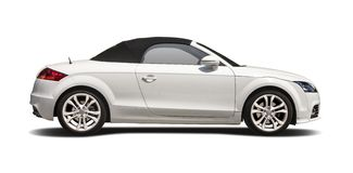 Cabrio Audi TT Royalty Free Stock Images