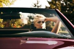 In cabrio Stock Images