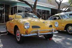 Cabrio clásico de Volkswagen Karmann Ghia fotos de archivo libres de regalías