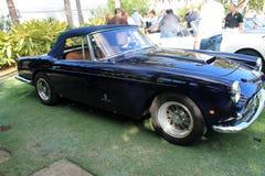Cabrio de Ferrari de vintage Photographie stock libre de droits