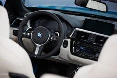 Cabrio de la serie 4er de BMW 4 Fotografía de archivo