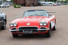 Cabrio rojo Foto de archivo