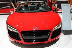 Cabrio super alemão novo na feira automóvel Fotos de Stock Royalty Free