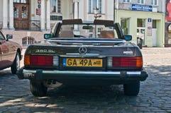 Cabrio Weinlese-Mercedess 380 SL Lizenzfreie Stockbilder