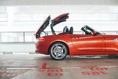 Cabrio zijprofiel Royalty-vrije Stock Foto's
