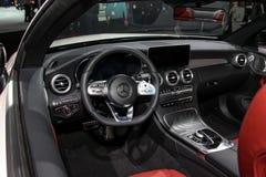 Cabriolé de la clase de Mercedes C Foto de archivo libre de regalías