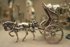 Cabriolé de plata Imágenes de archivo libres de regalías