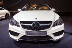 Cabriolé de la E-clase de Mercedes-Benz Fotografía de archivo libre de regalías