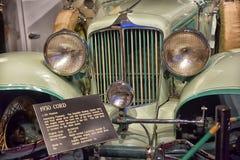 Cabriolet 1930 шнуров Стоковое фото RF