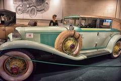 Cabriolet 1930 шнуров Стоковые Фотографии RF