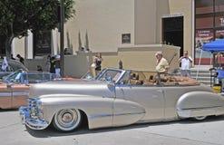 Cabriolet 1947 för Cadillac serie 62 Arkivbilder
