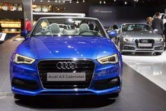 Cabriolet Audis A3 A5 Lizenzfreie Stockbilder