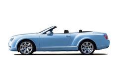 Cabriolet blu-chiaro Fotografia Stock Libera da Diritti