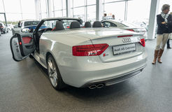 Cabriolet de Audi A5 Fotos de Stock