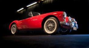 Cabriolet de cru présenté au Salon de l'Automobile de Tel Aviv photographie stock libre de droits