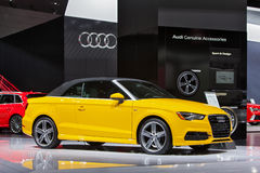 Cabriolet-Detroit-Automobilausstellung 2015 Audis A3 Lizenzfreies Stockfoto