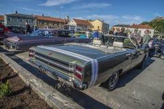 1968 cabriolet för Dodge pil GTS Arkivfoto