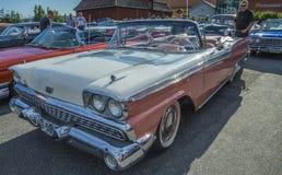 1959 cabriolet för vadställefairlane 500 Royaltyfria Bilder