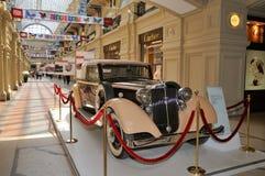 Cabriolet Horch 830 BL 1939 i GUMMI fotografering för bildbyråer