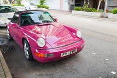 Cabriolet-Sportauto Porsches 964 Carrera 2 lizenzfreie stockfotografie