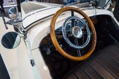 Cabriolet van Mercedes-Benz Nuerburg 460K W08, 1929 Stock Afbeeldingen